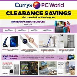 Currys PC World catalogue in Brighton ( Expired )