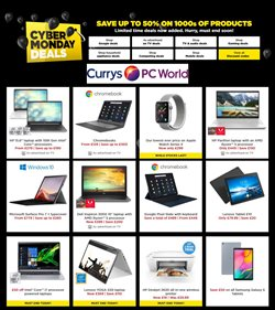 Currys PC World catalogue in Manchester ( Expired )