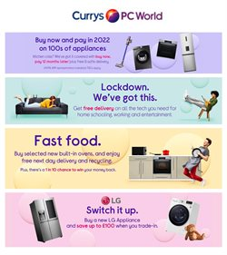 Currys PC World catalogue ( 3 days left )
