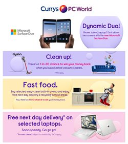 Currys PC World catalogue ( 2 days left )