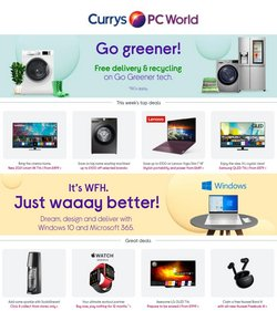 Currys PC World catalogue ( 1 day ago )