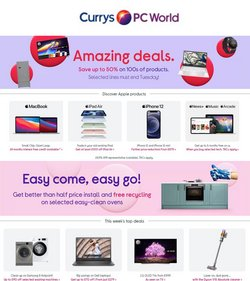 Electronics offers in the Currys PC World catalogue ( Published today)