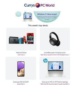 Currys PC World catalogue ( 8 days left)
