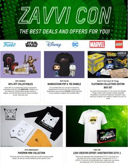 Electronics offers in the Zavvi catalogue in London ( 5 days left )