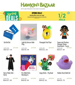 Toys & Babies offers in the Hawkin's Bazaar catalogue in London ( 6 days left )