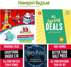 Christmas offers in the Hawkin's Bazaar catalogue ( 3 days left)