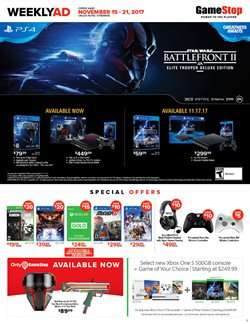 Electricals offers in the GameStop catalogue in London