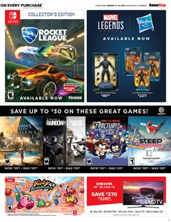 TV offers in the GameStop catalogue in London