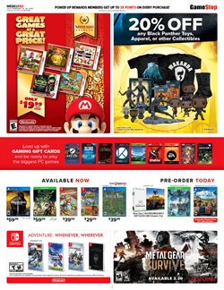 Collections offers in the GameStop catalogue in London