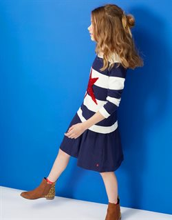 Print dress offers in the Joules catalogue in London