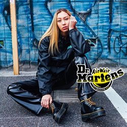 Dr. Martens offers in the London catalogue