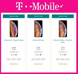 IPhone offers in the T-Mobile catalogue in Middlesbrough