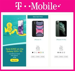 T-Mobile catalogue in Birmingham ( 29 days left )