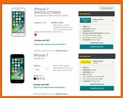 Mobile phones offers in the Orange catalogue in London
