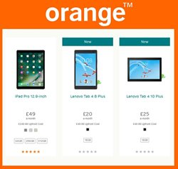 Lenovo offers in the Orange catalogue in London