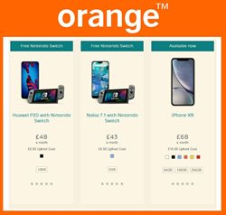 IPhone offers in the Orange catalogue in Middlesbrough