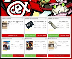 Storage media offers in the CeX catalogue in London