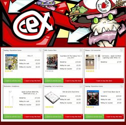 CeX offers in the Barnstaple catalogue