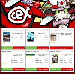 Electricals offers in the CeX catalogue in Enfield