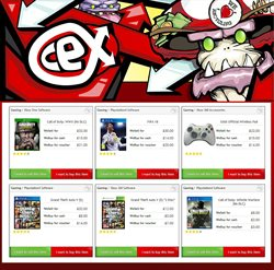 Wireless offers in the CeX catalogue in London