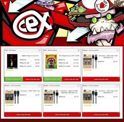 Phones offers in the CeX catalogue in London