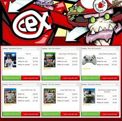 Xbox offers in the CeX catalogue in London