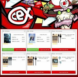 TV offers in the CeX catalogue in Aldershot
