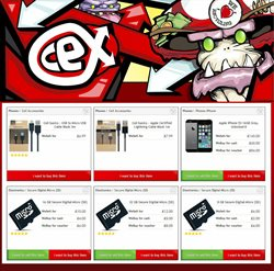 IPhone offers in the CeX catalogue in London