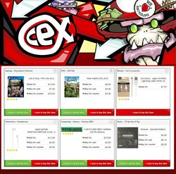 CeX offers in the Widnes catalogue