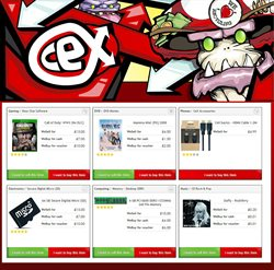 TV offers in the CeX catalogue in London