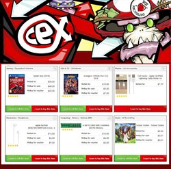 CeX offers in the London catalogue