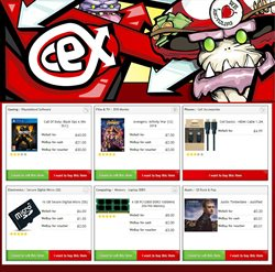 Laptop offers in the CeX catalogue in London