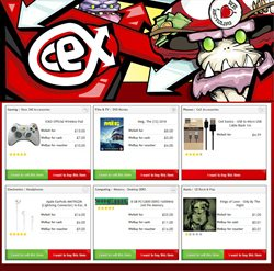 TV offers in the CeX catalogue in Barking-Dagenham