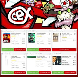 CeX offers in the Liverpool catalogue