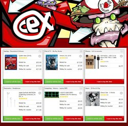 Computer offers in the CeX catalogue in Birmingham