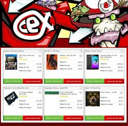 Samsung Galaxy offers in the CeX catalogue in London