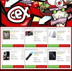 CeX catalogue ( 1 day ago )