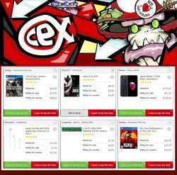 CeX catalogue in London ( Expired )
