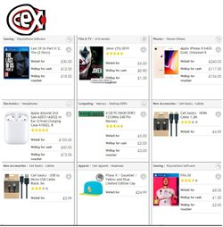 CeX catalogue in London ( 12 days left )