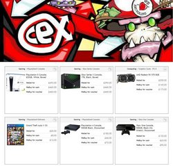 CeX offers in the CeX catalogue ( Expires tomorrow)