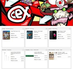Electronics offers in the CeX catalogue ( 8 days left)
