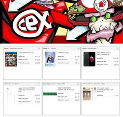 CeX offers in the CeX catalogue ( 24 days left)