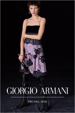 Armani offers in the Hammersmith catalogue