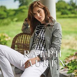 Luxury brands offers in the Ralph Lauren catalogue in Greenwich