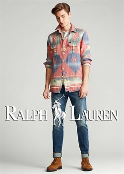 Luxury brands offers in the Ralph Lauren catalogue ( More than a month )