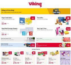 Books & Stationery offers in the Viking Direct catalogue ( 8 days left)