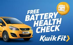 Cars, motorcycles & spares offers in the Kwik Fit catalogue in Dartford