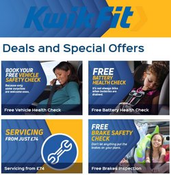 Cars, Motorcycles & Spares offers in the Kwik Fit catalogue ( 10 days left)