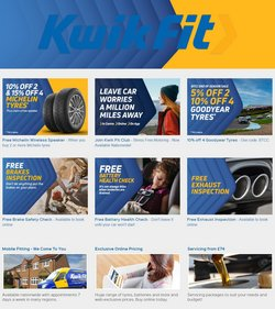 Kwik Fit offers in the Kwik Fit catalogue ( 25 days left)