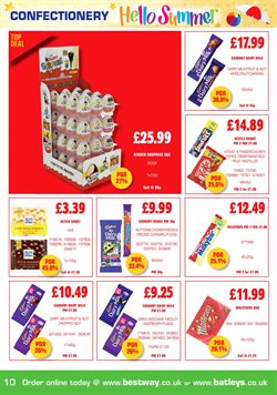 Chocolate offers in the Bestway catalogue in London